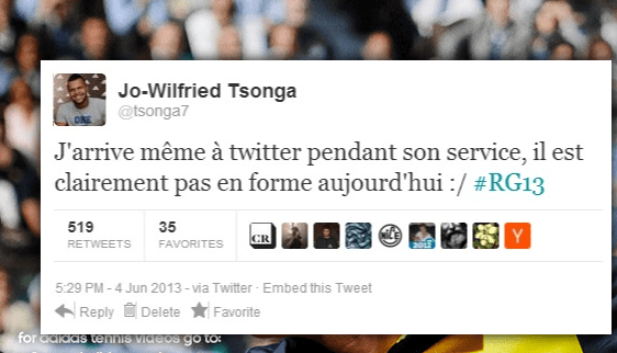 tweet tweet rencontre