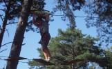 Ouverture d'un parcours d'accrobranche voyeuriste au Bois de Boulogne
