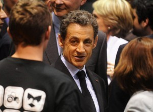 President Sarkozy Canvasses Support At The 'Salon De L'Agriculture 2012' launch