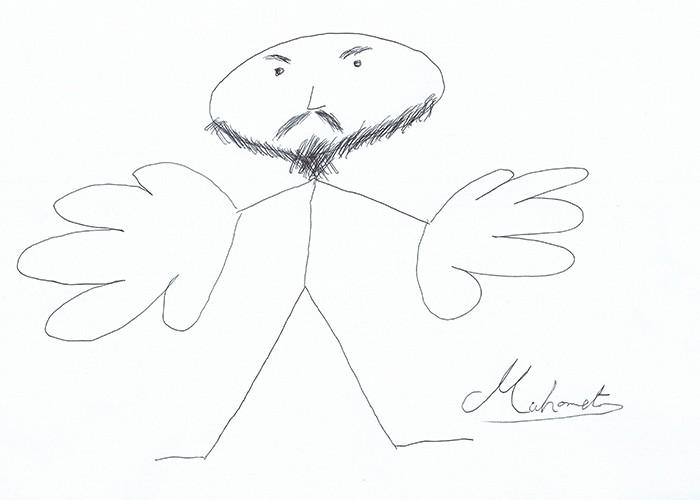 Mahomet, dessiné par lui-même