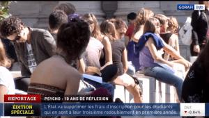 Etudiants en psycho
