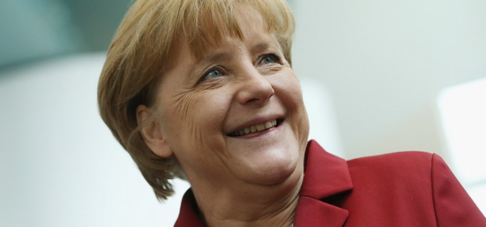 Merkel Receives Carnival Delegations
