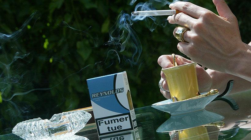Le fumer dans 14 ans comme jeter