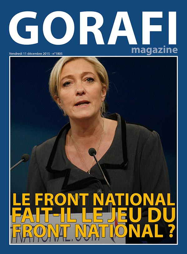 Gorafi Magazine : Le Front national fait-il le jeu du Front national ?