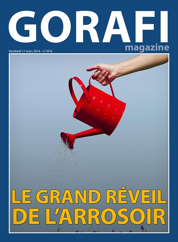gorafi magazine le grand r veil de l 39 arrosoir le gorafi news network. Black Bedroom Furniture Sets. Home Design Ideas