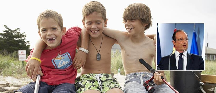 Un documentaire montre que fran ois hollande serait en r alit trois gar ons de 8 ans dans un - Les simpson tout nu ...