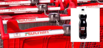 Shopping Trollies at Auchan, the French Supermarket Chain