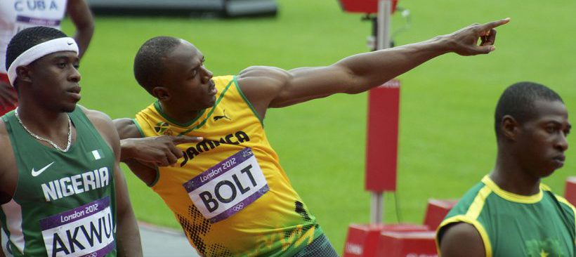 By Nick Webb from London, United Kingdom - Usain Bolt - The Bolt!Uploaded by Kafuffle, CC BY 2.0, https://commons.wikimedia.org/w/index.php?curid=20634243
