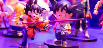 Marco Verch - Dragonball Fighter Z Son Goku with stick action figure - Gamescom 2017, Cologne
